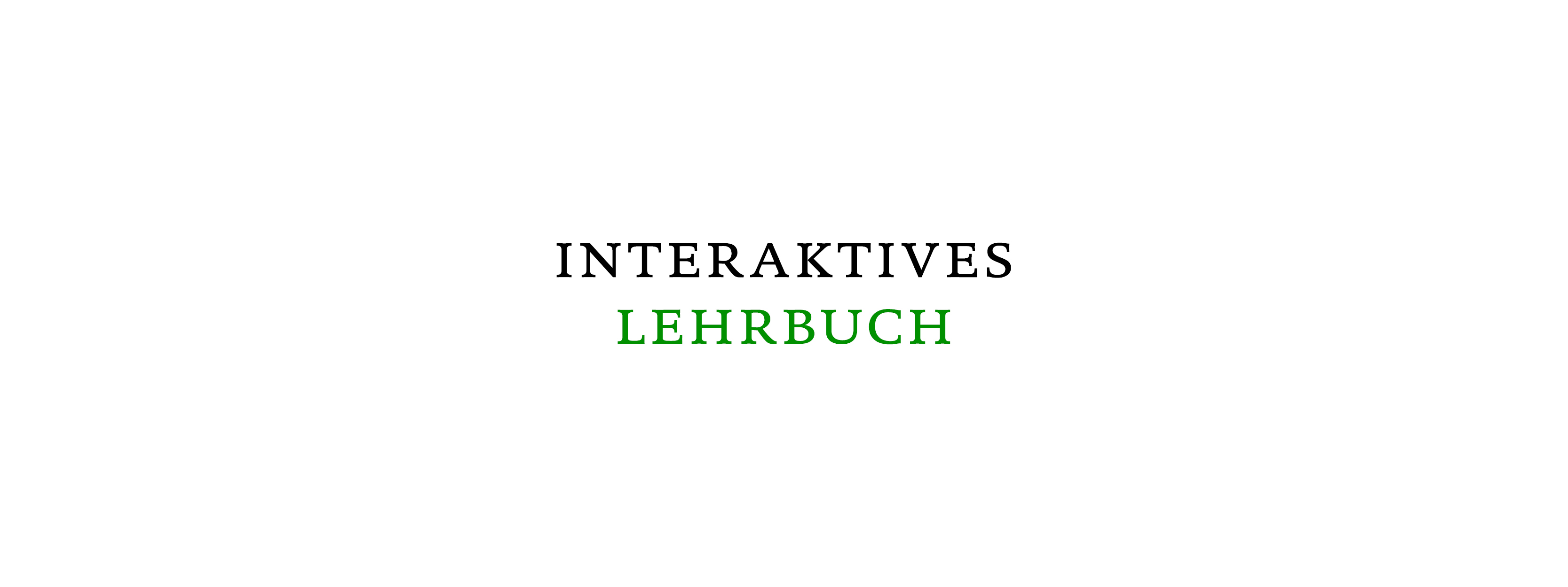 Interaktives Schulbuch