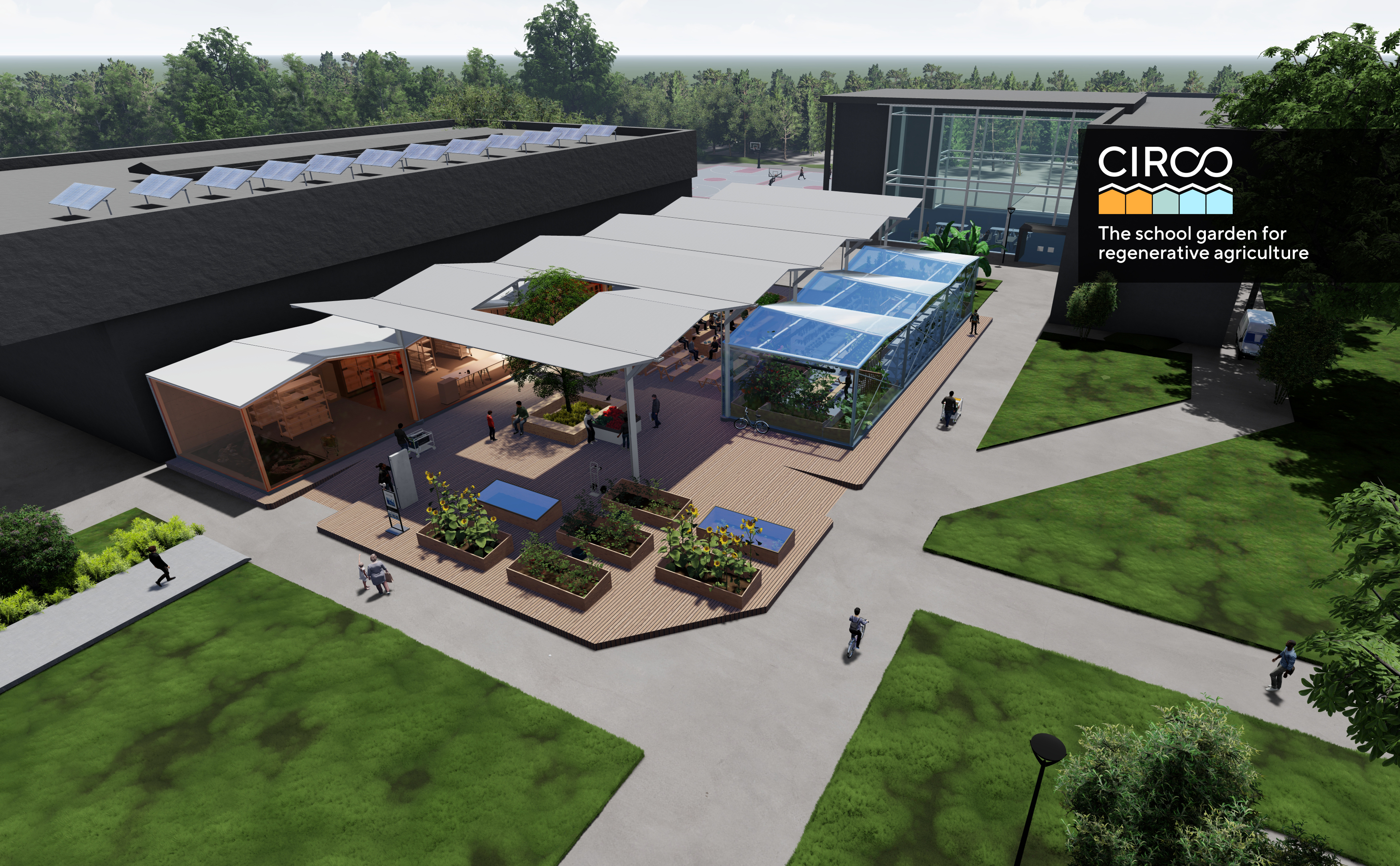 CIRCO-The school garden for regenerative agriculture
