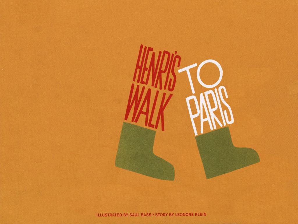 Henri's Walk To Paris - ein interaktives Kinderbuch
