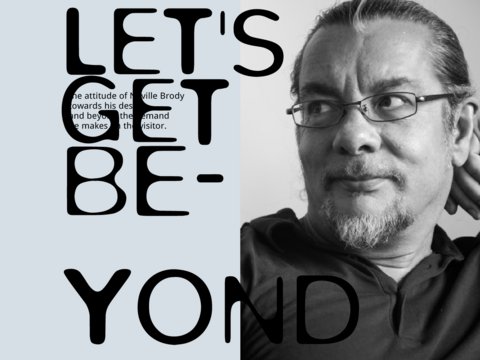 Let's get beyond - Neville Brody