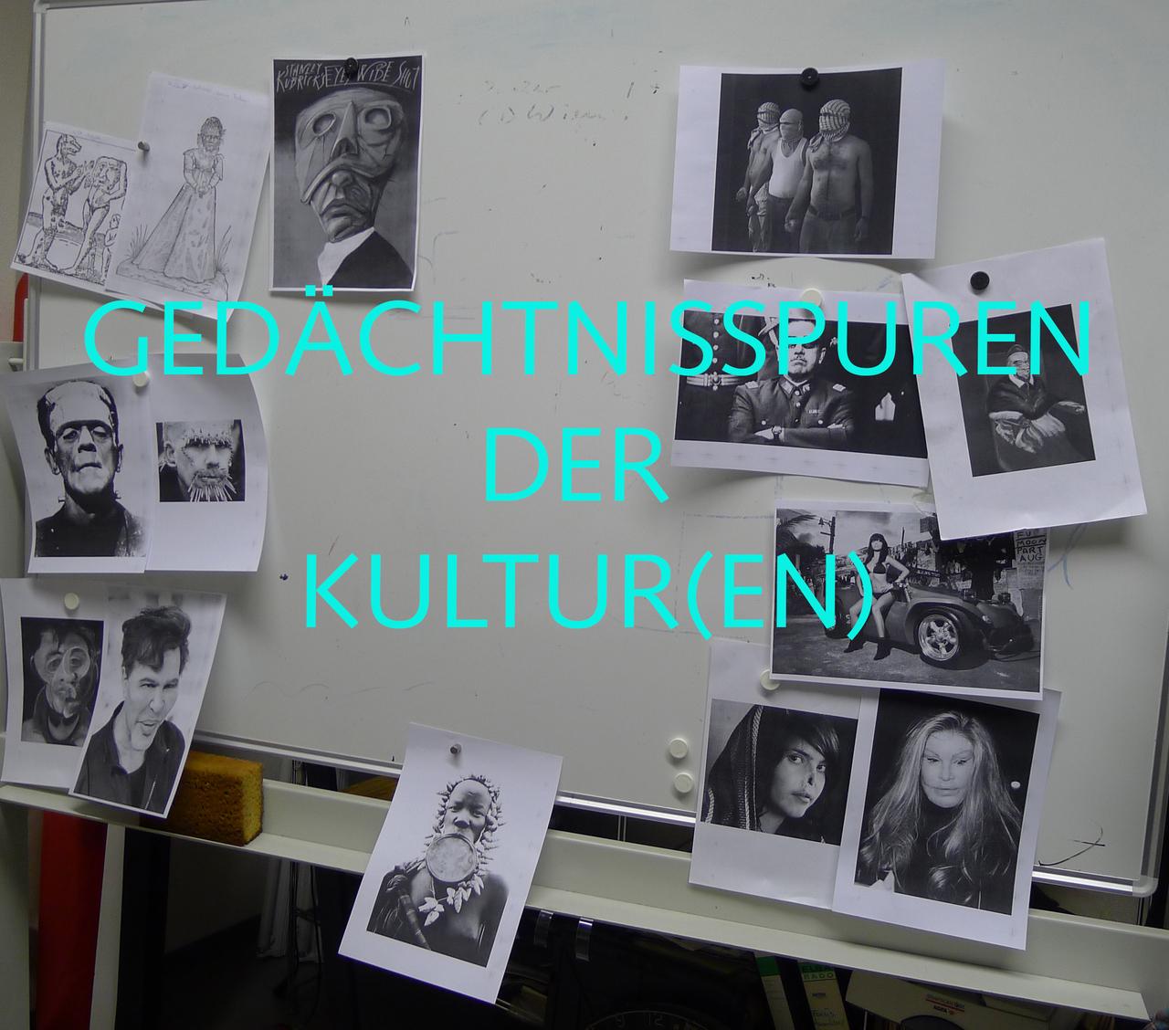 GEDÄCHTNISSPUREN DER KULTUR(EN)