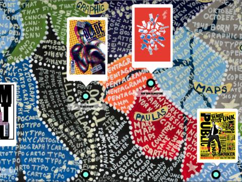 Paula Scher Map